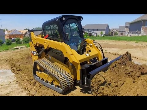 Cat 174 Angle Blade And Dozer Blade Attachment Overview Youtube