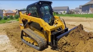 Cat® Angle Blade and Dozer Blade Attachment Overview