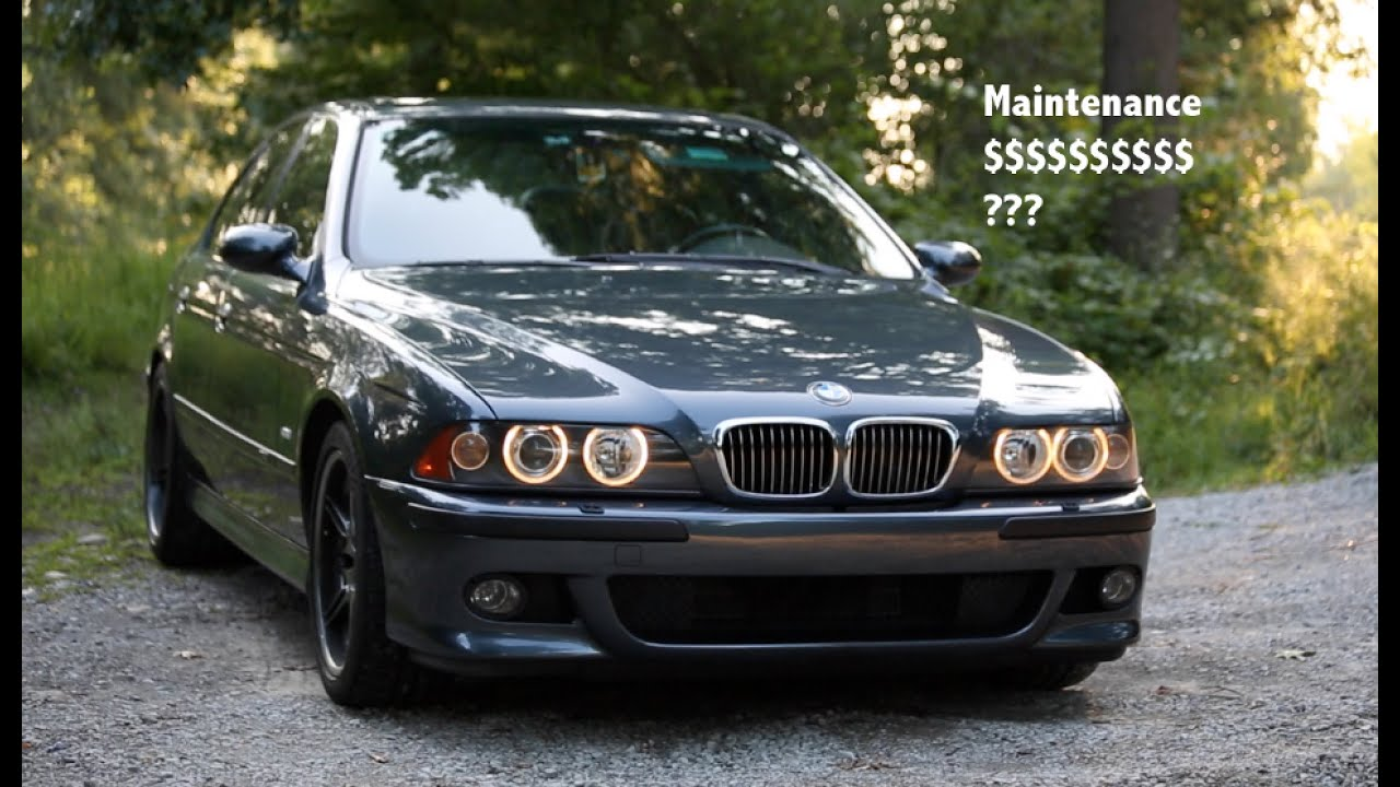 bmw e39 m5 maintenance cost how expensive is it really. Black Bedroom Furniture Sets. Home Design Ideas