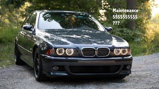 BMW E39 M5 Maintenance Cost - How Expensive Is It Really?