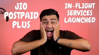 Jio PostPaid Plus | New PostPaid Plans With Netflix And In-Flight Services  Launched !!