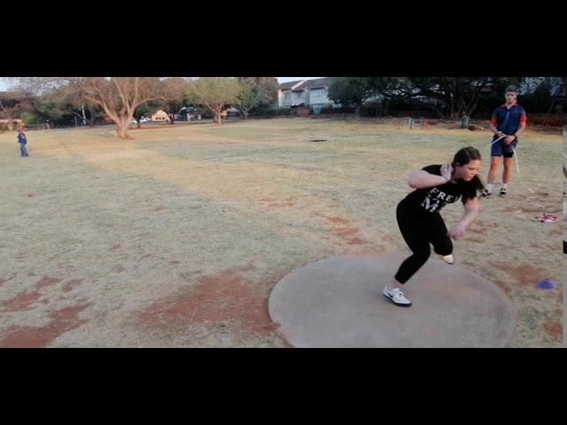#VSA2020/Ziane du Plessis/Female/15/Shotput/12.89