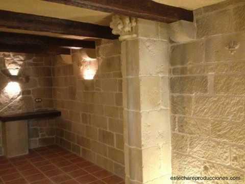 Decoraci n en bodegas r sticas theming cellar walls - Bodegas rusticas decoracion ...