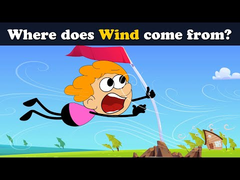 Where does Wind come from? | #aumsum #kids #science #education #children