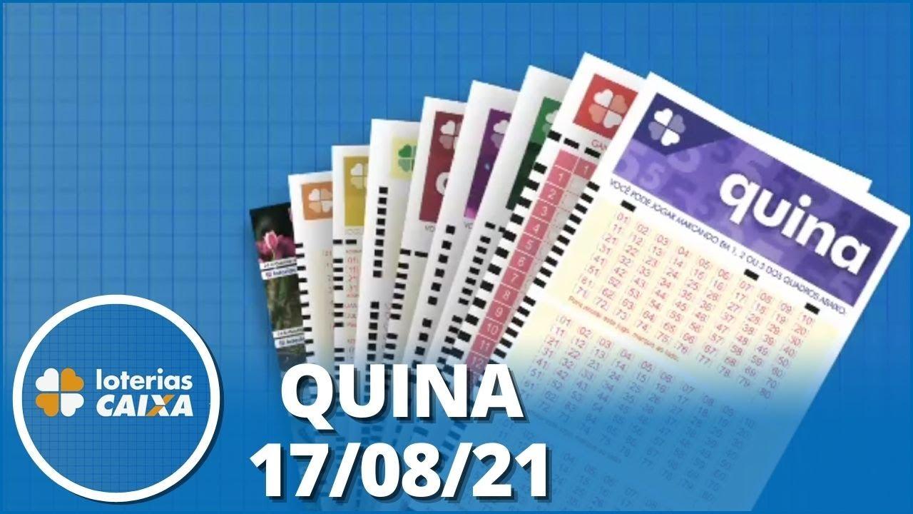 Download Resultado da Quina - Concurso nº 5634 - 17/08/2021