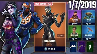 DARK BOMBER PART 100 || January 7th New Skins || Daily Fortnite Item Shop