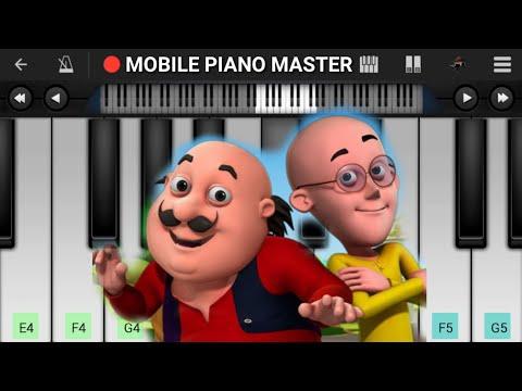 Motu Patlu Theme Piano | Cartoon|Piano Keyboard|Piano Lessons|Piano Music|learn Piano Online