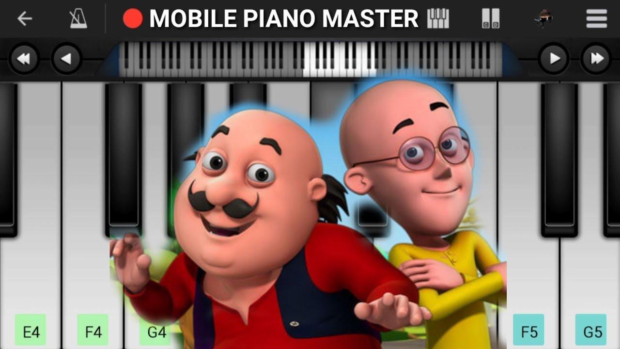 Motu Patlu Theme Piano Cartoon Piano Keyboard Piano Lessons Piano