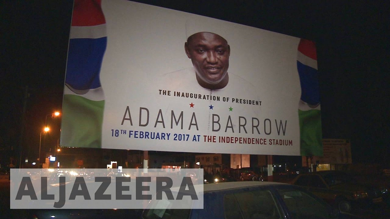 Celebrations as Gambians welcome new Barrow era