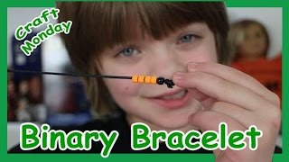 Video Craft Monday - How to make Binary Code Bracelet - Day 612 | ActOutGames download MP3, 3GP, MP4, WEBM, AVI, FLV Juli 2018