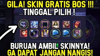 CARA MENDAPATKAN SKIN GRATIS, BORDER ,DIAMOND COUPON MOBILE LEGENDS !!!