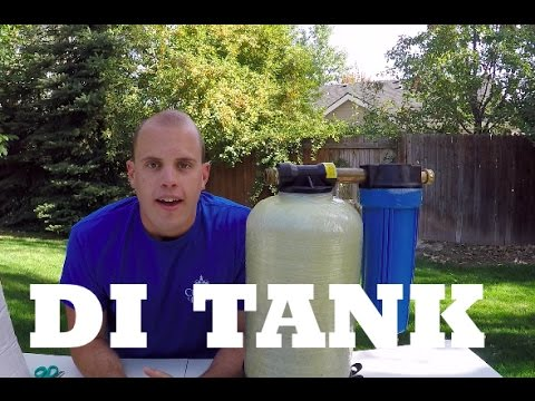 How to Change De-Ionizer Tank Resin - Pure Water Window Cleaning