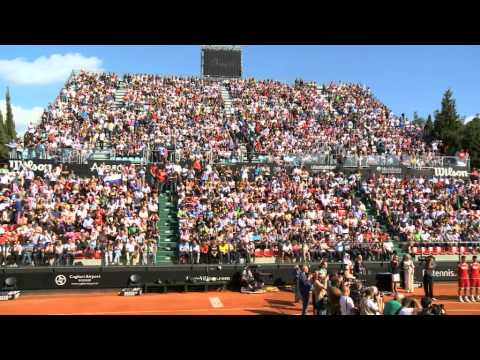 Crowds flock to 2013 Fed Cup Final