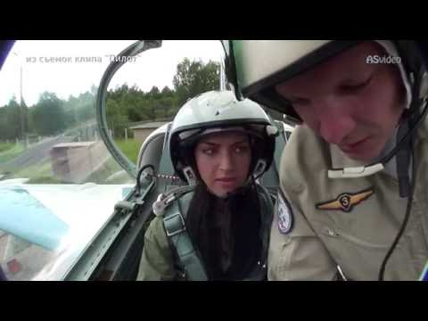 Cute Russian Girl Flight In L-39 Fighter Jet Cockpit View