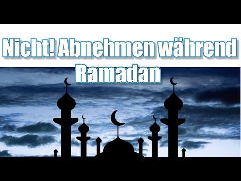 nicht ABNEHMEN trotz Ramadan | Fastenzeit Gewicht halten ????