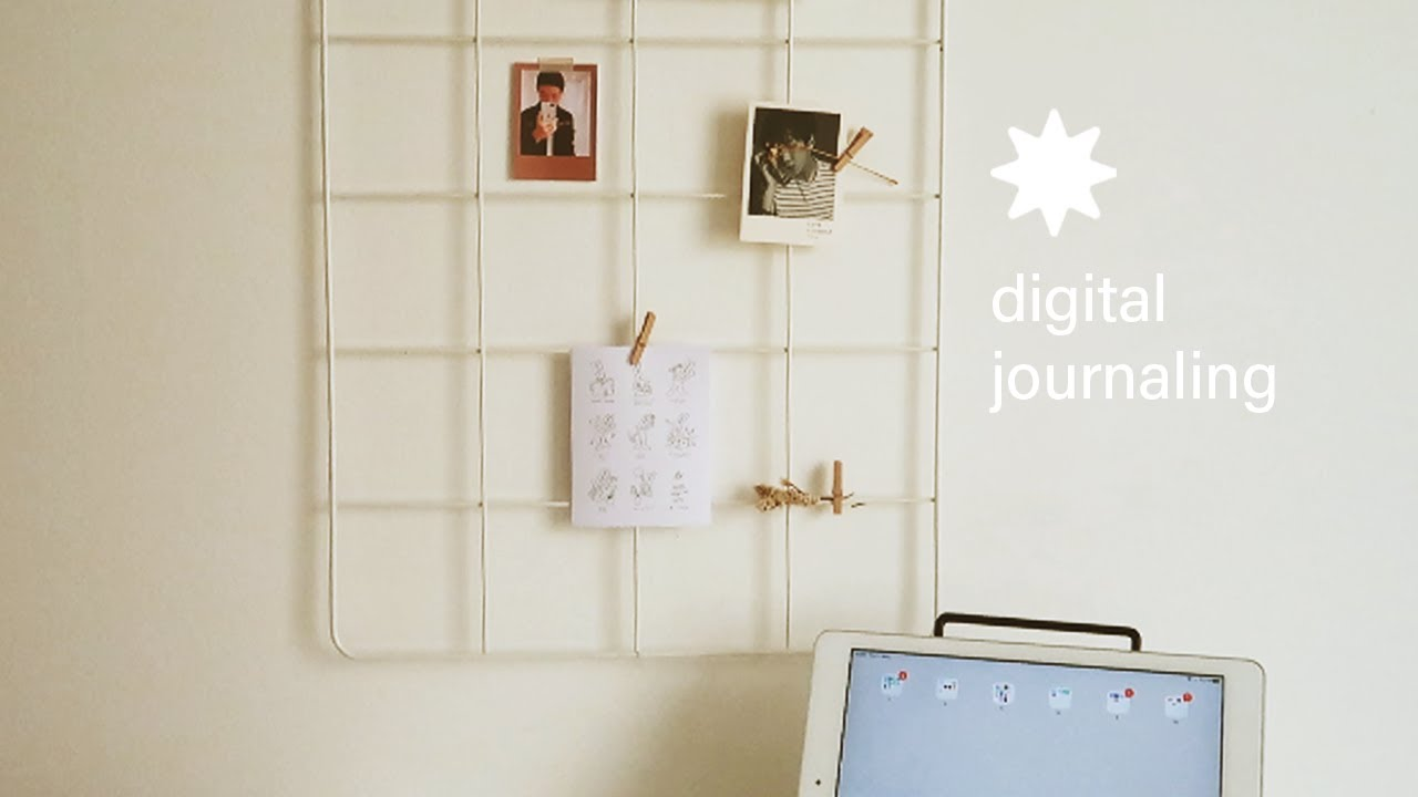 digital journaling ✷ (+ free weekly & grid journal)