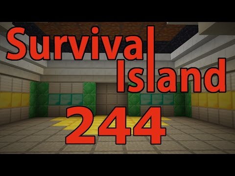 Minecraft- Survival Island [244] SLAB TRICKS