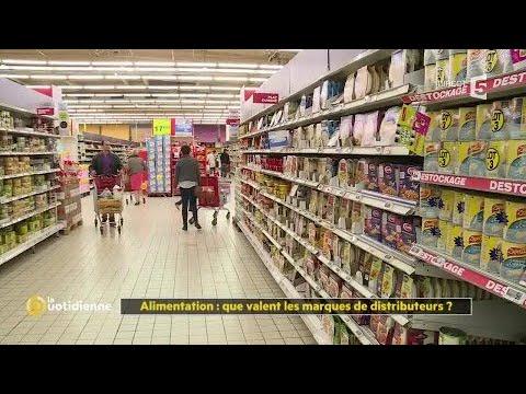 Alimentation : que valent les marques de distributeurs ?