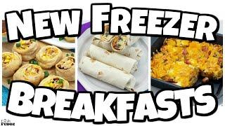 *ALL NEW* Make Ahead FREEZER Breakfast Ideas