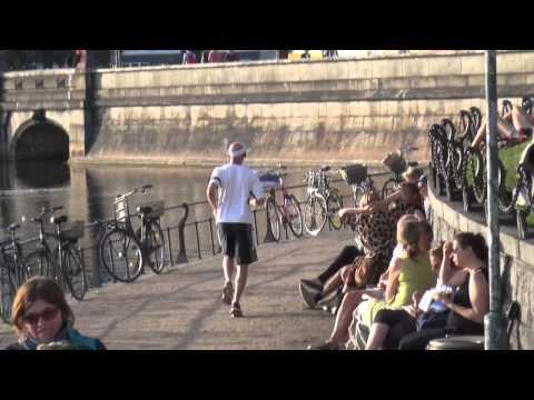 I dagens løb... (morsomt motionsløb ved søerne)