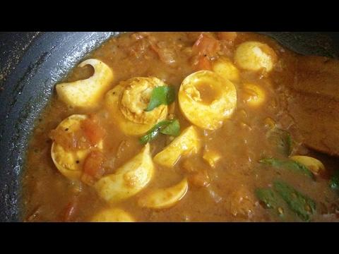 ಮೊಟ್ಟೆ ಕರಿ / egg curry for chapati/egg masal /motte recipe/kannada recipes