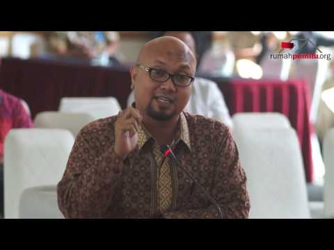 Calon Anggota KPU Ilham Saputra, S.IP