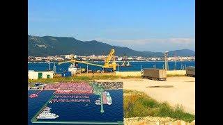 Строительство яхтенной марины на месте грузового порта в Геленджике «Gelendzhik Bay Marina & Resort»