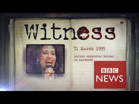 The day my pop star wife Selena was killed - Witness - BBC News