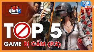 TOP 5 GAME BỊ CẤM CHƠI  P.2 - Muốn Chơi Cũng Không Được? | meGAME