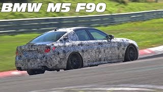 2018 BMW M5 F90 Spied Testing on the Nürburgring Nordschleife!