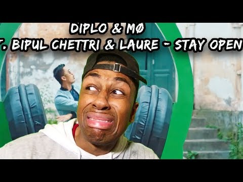 Diplo & MØ feat. Bipul Chettri & Laure - Stay Open [Official Music Video - Nepal] reaction