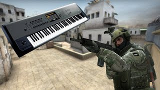 PLAYING PIANO IN CS:GO!