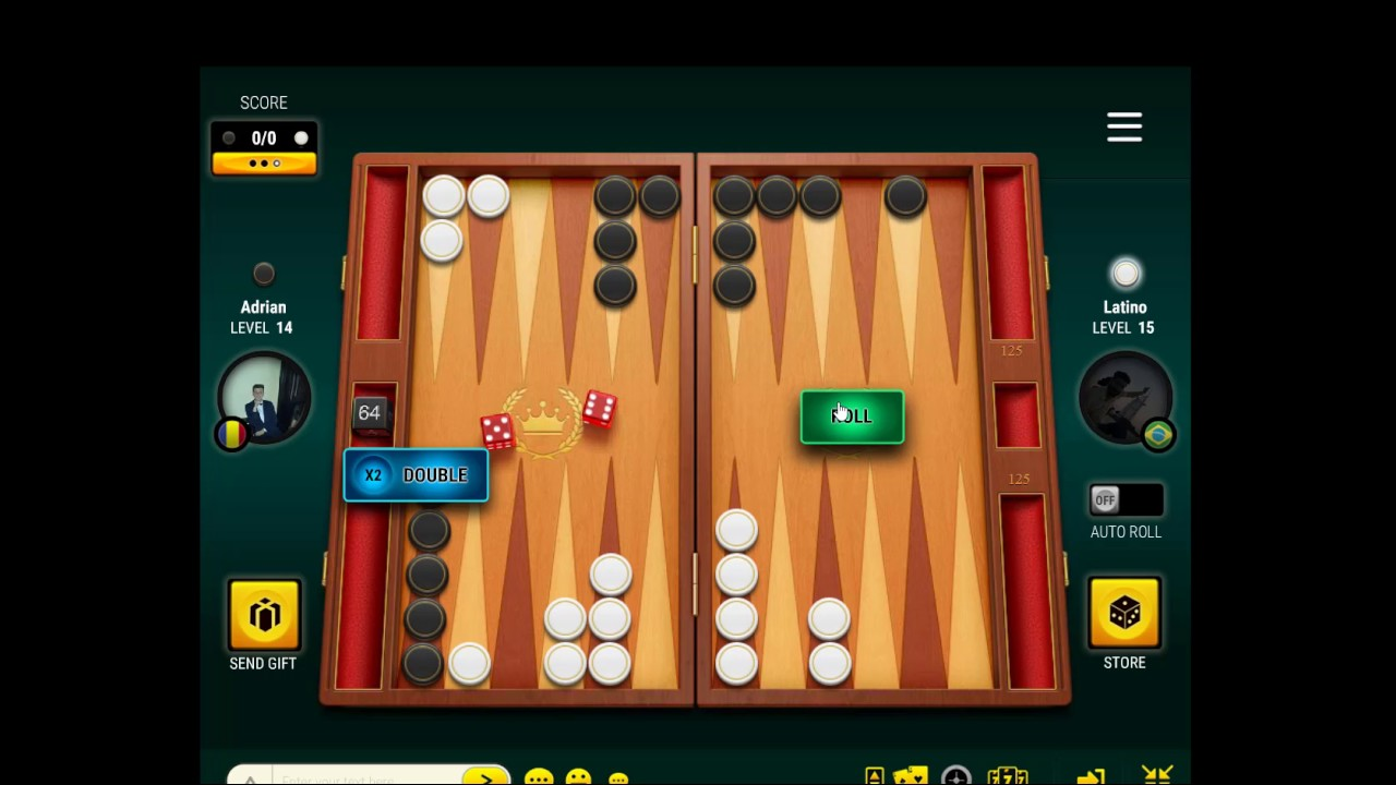 Play Backgammon Live