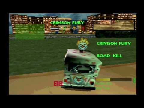 Twisted Metal 1 Sweet Tooth Tournament Playthrough HD