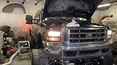 How To Wire Lights On Super Duty Mirrors Youtube