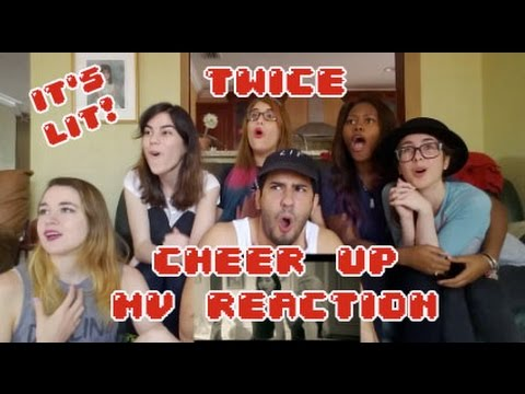 Thumbnail: AKA REACTS! TWICE(트와이스) CHEER UP MV Reaction
