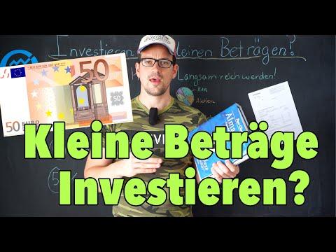 100 Euro in kleinen Beträgen jetzt investieren? 5 wichtige Tipps