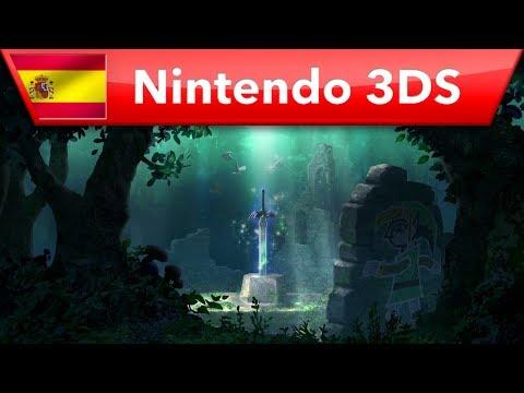 The Legend of Zelda: A Link Between Worlds - Tráiler de lanzamiento (Nintendo 3DS)