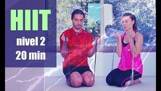 Ejercicios nivel 2 moderado cuerpo atlético | 20 minutos cardio rutina MalovaElena