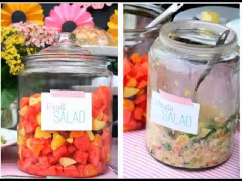 Outdoor Baby Shower Decorating Ideas