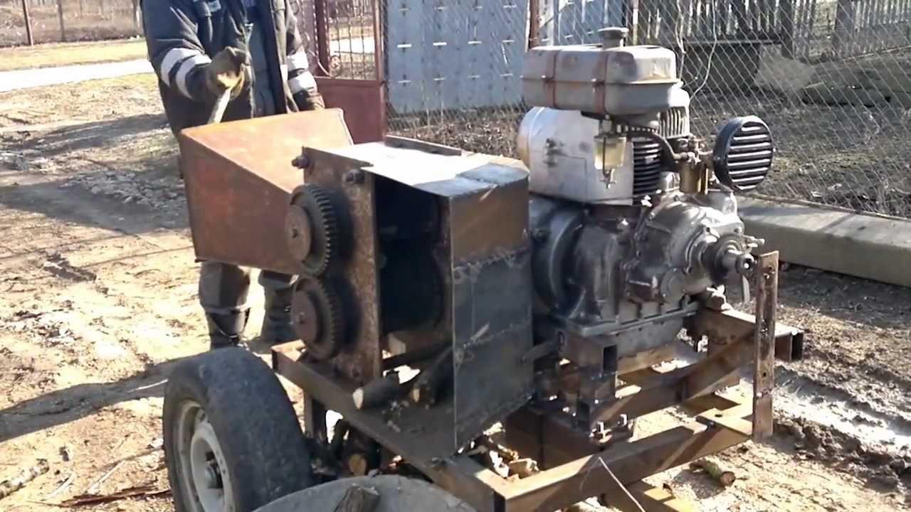 Самодельная дробилка для веток видео ремонт горного оборудования в Ярцево