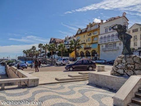 Португалия, Престижный Курорт Кашкайш, Пляж, ВЛОГ 1