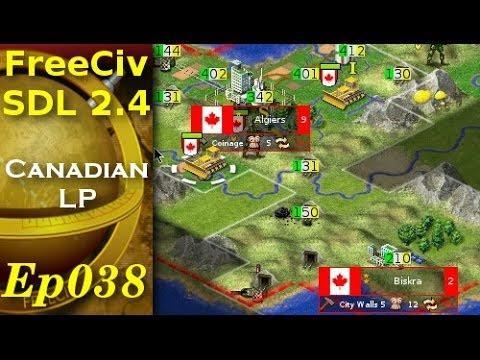 FreeCiv 2.4.0 [SDL Client] Canadian LP - Ep038