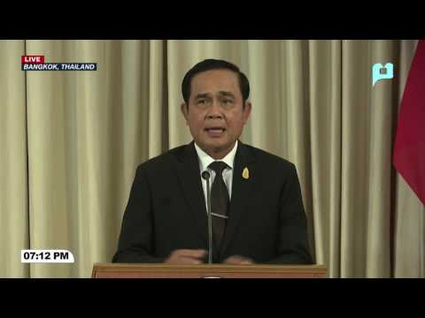 WATCH: Joint Press Statement of President @Rody Duterte and Thailand Prime Minister General Prayuth