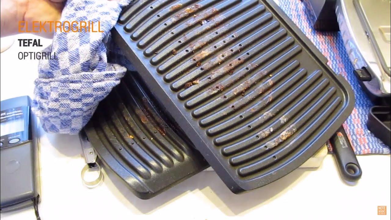 tefal optigrill leichte reinigung der grillplatten deutsch german