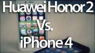 Huawei Honor 2 против iPhone 4. Сравнение AppleInsider.ru