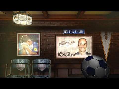 Former MLS Star Landon Donovan on The Dan Patrick Show | Full Interview | 10/11/17