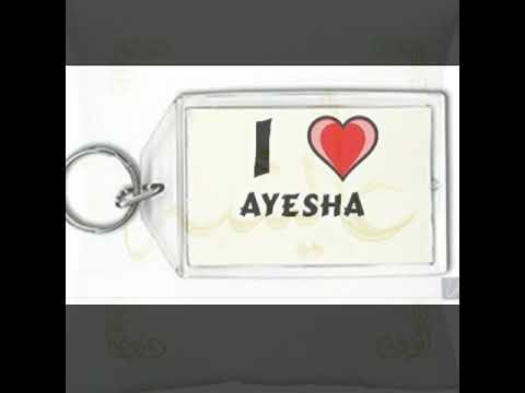 Ayesha name WhatsApp status ❤️ | Music Jinni