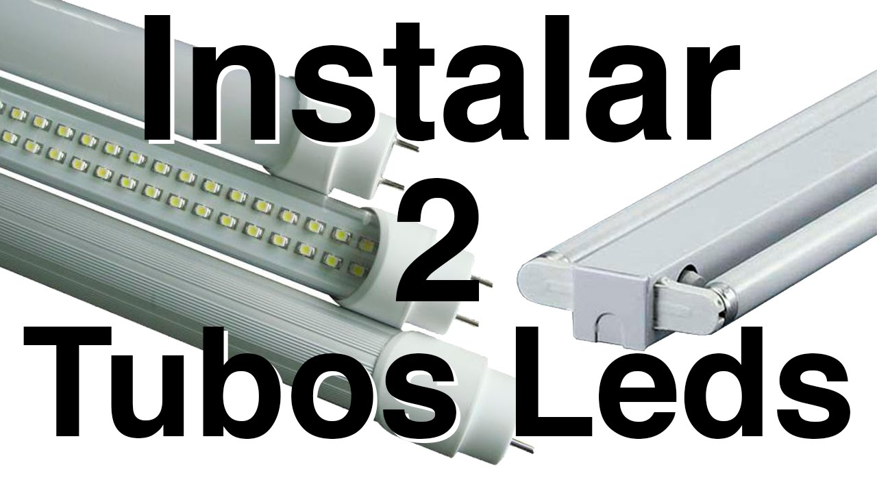 2 of tubes Installation LED R5L3Ajc4q