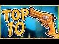 Overwatch - TOP 10 BEST GOLD GUNS IN OVERWATCH